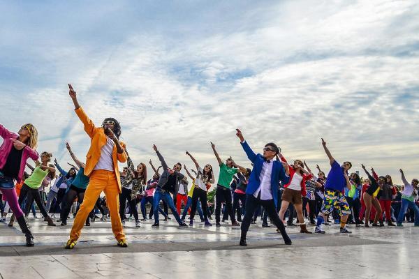 De leukste activiteit met de flashmob workshop i n Sint-Niklaas!